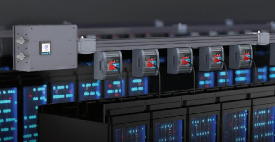 Strømskinner for datasenter